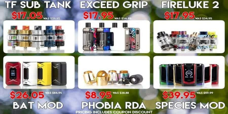 MyVPro Labor Day Sale! Save up to $20 Off Orders - Vaping