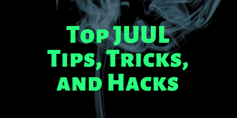 top juul tips tricks and hacks