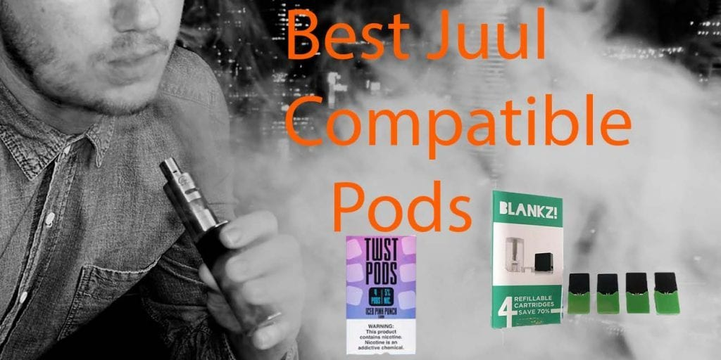 Refillable and Compatible Juul Pods