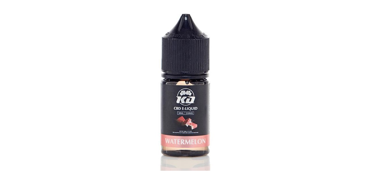 Knockout CBD vape juice watermelon